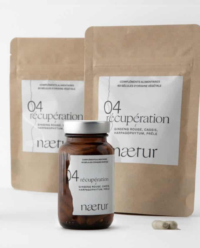 Compléments alimentaires récupération 04 (Naetur), une cure de trois mois pour mieux récupérer après le sport