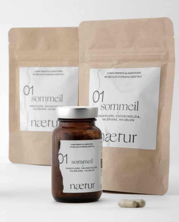 Compléments alimentaires sommeil 01 (Naetur), une cure de trois mois pour mieux dormir