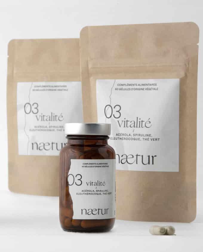Compléments alimentaires vitalité 03 (Naetur), une cure de trois mois contre la fatigue